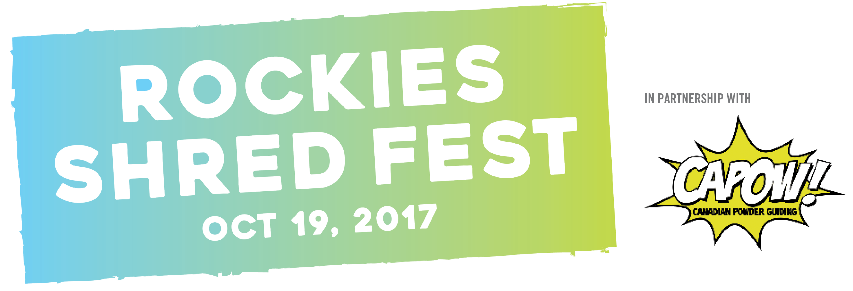 Rockies Shred Fest – Oct. 19, 2017