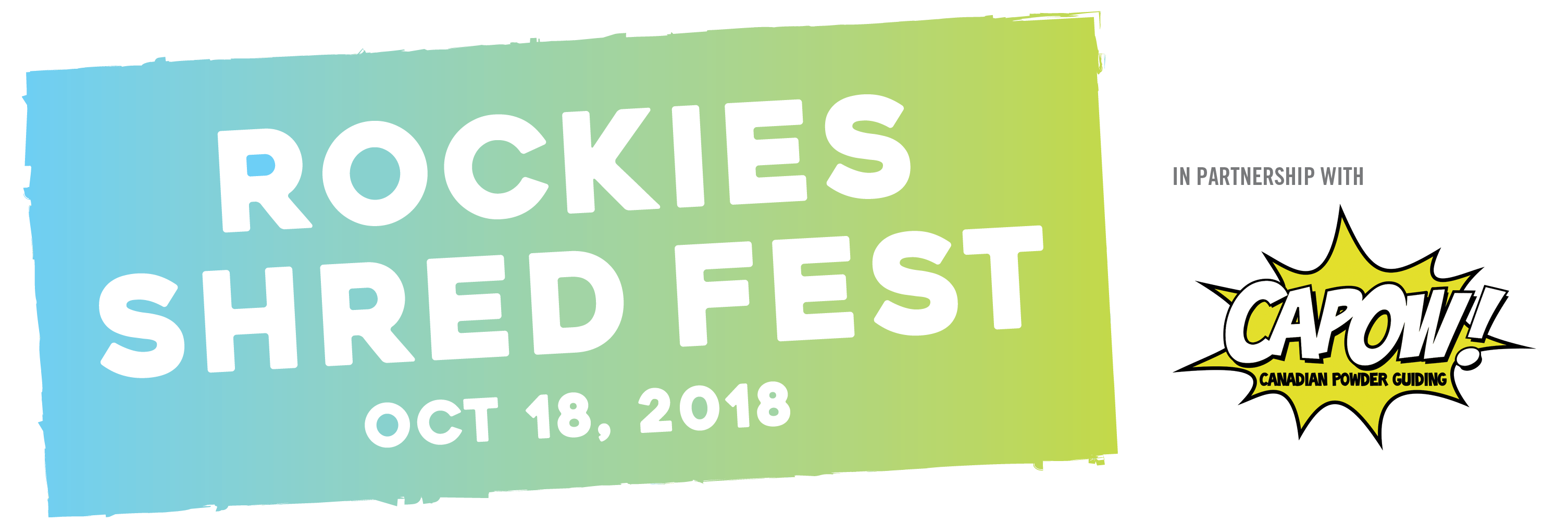 Rockies Shred Fest – Oct. 18, 2018